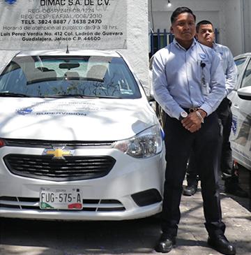 DIMAC Seguridad Privada en Guadalajara - Custodias de transporte